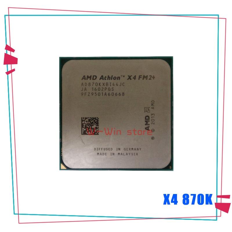 AMD Athlon X4 870K 3.9GHz Quad-Core CPU Processor 95W AD870KXBI44JC 4MB Socket FM2+