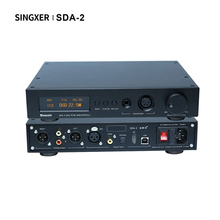 Singxer SDA 2 çözme ses şifre çözücü kulaklık amplifikatörü DSD512 AK4497EQ DAC Hifi profesyonel amplifikatör