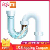 1 24 pçs varas de descontaminação de esgoto para desodorante a cozinha banheiro banheira dreno cleaner tubo canal haste limpeza