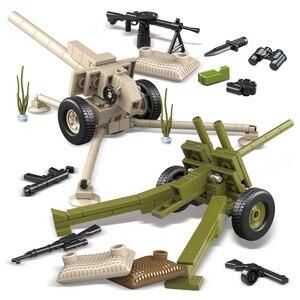 Image 5 - Oenux WW2 la battaglia di mosca scene militari piccolo blocco da costruzione Mini soldato dellesercito russo sovietico figura mattone blocco giocattolo per bambini