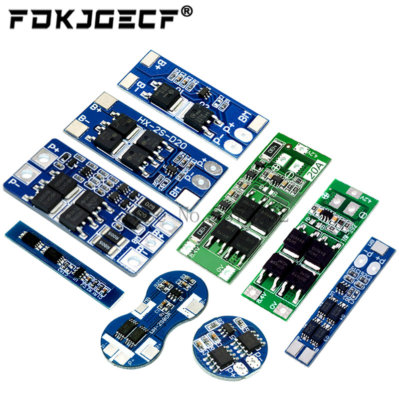 2S 3A 4A 5A 8A 10A 13A 20A 7.4V 8.4V Li-ion 18650 Lithium battery protection board / BMS board Standard / Balance