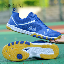 Sneakers Badminton-Shoes Sports BUFEIPAI Light Men And Soft Breathable Women