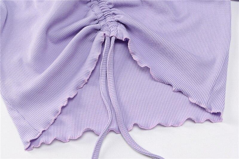 Knitting long sleeve top women18