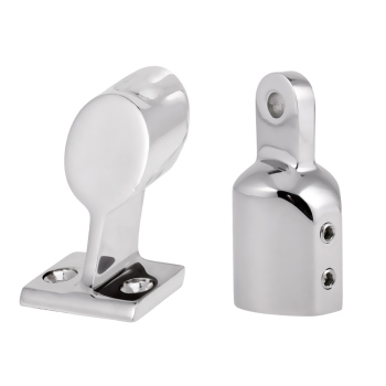 Boat Hand Rail Center Stanchion Stainless Steel, Top Cap Fitting Boat Marine Stainless Steel Universal For Boat boat hand rail center stanchion stainless steel top cap fitting boat marine stainless steel universal for boat