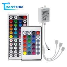 Mini télécommande IR à 44/24 touches pour bandes lumineuses, 3528/5050 diodes, dc 12v