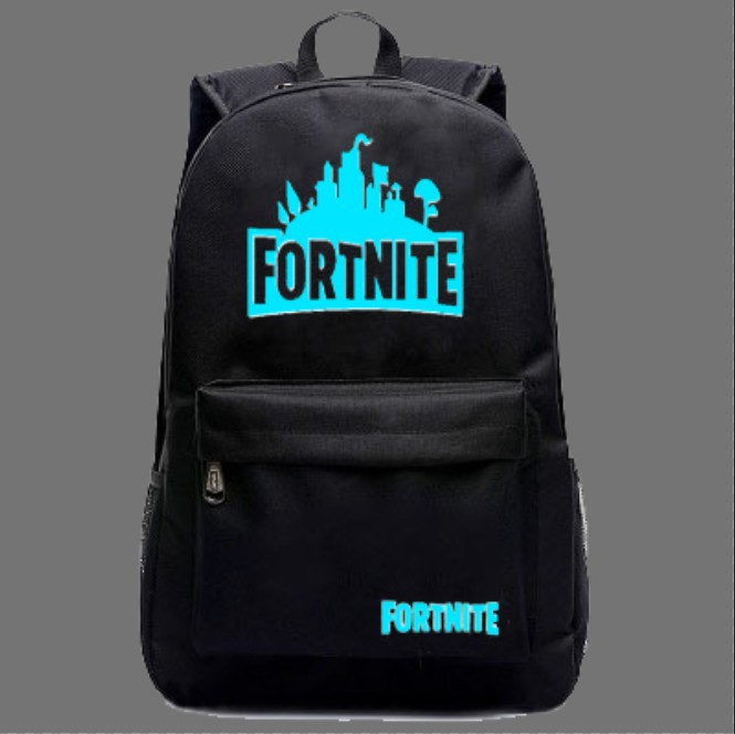Fortnite Game Mobilefortress Night Shoulder Backpack Men's And Women's Student School Bag Leisure Bag Customizable