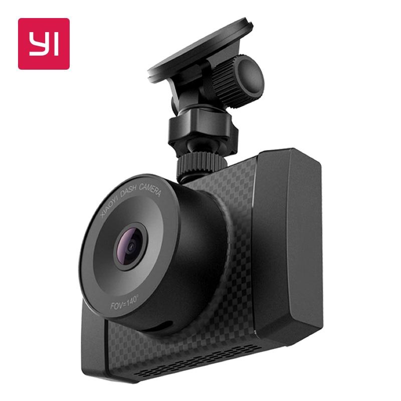 Yi ultra dash câmera com 16g cartão 2.7 k resolução a17 a7 chip de núcleo duplo controle de voz sensor de luz de 2.7 polegadas widescreen