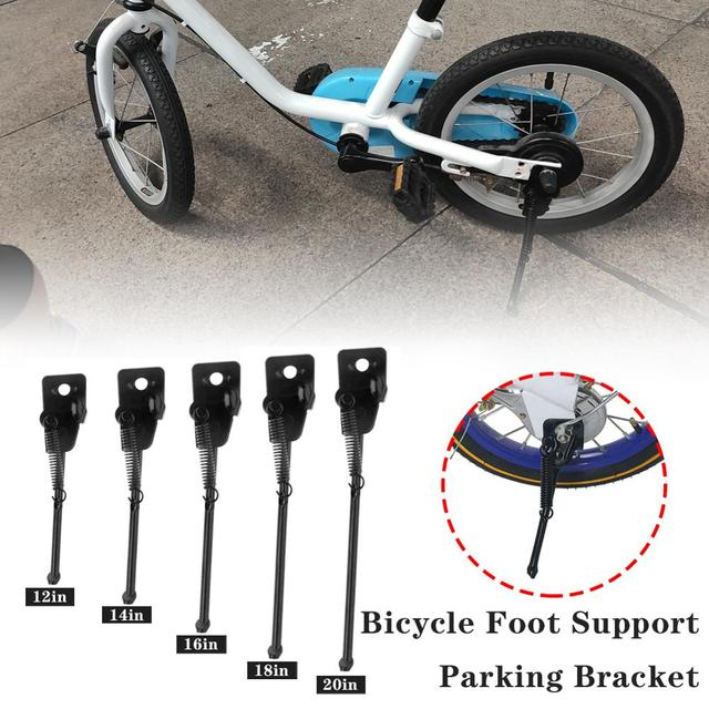 Road Bicycle Kickstand Parking Rack Mountain Bike Support Side Kick Stand Foot