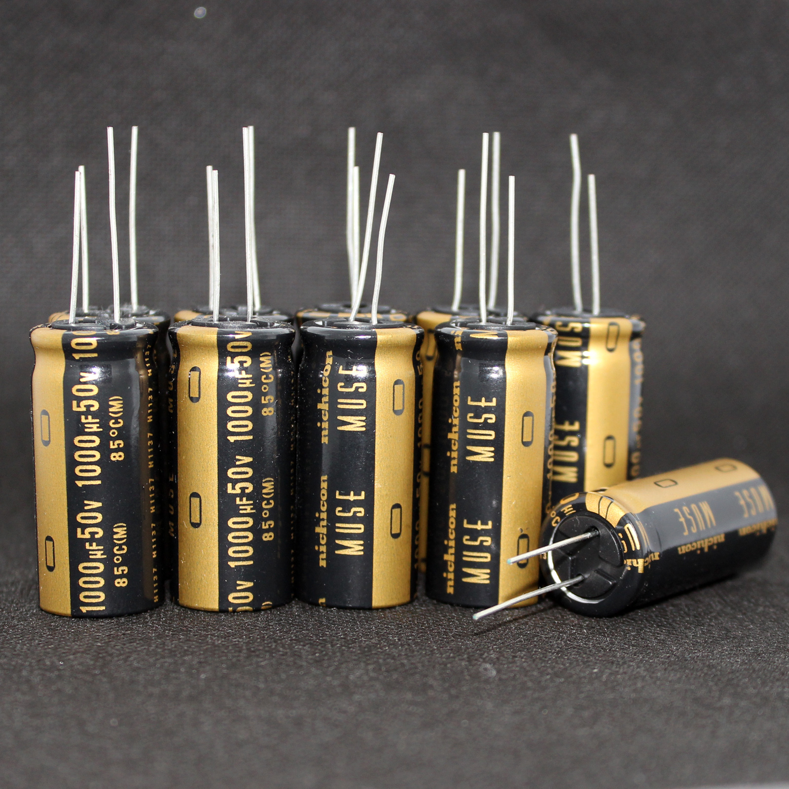 30pcs/lot Original Nichicon MUSE KZ Series Fever Capacitor Audio Aluminum Electrolytic Capacitor Free Shipping