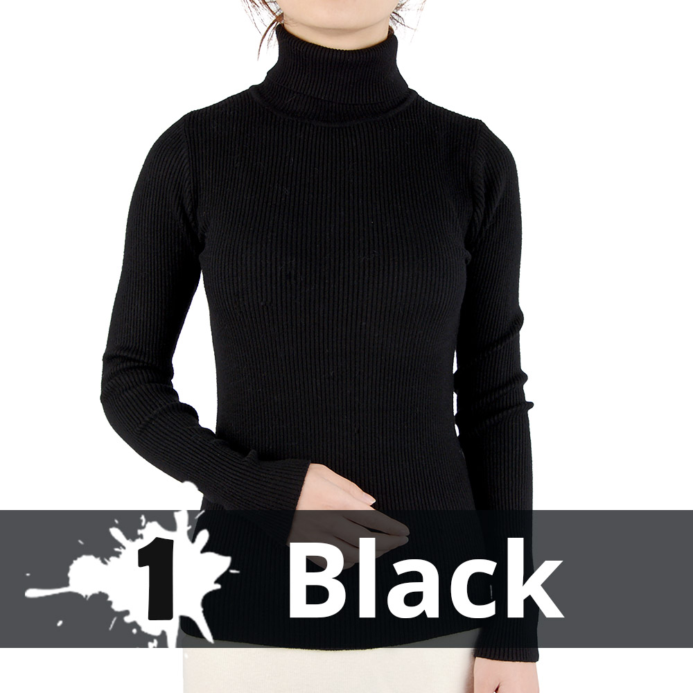 2021 Autumn Winter Thick Sweater Women Knitted Ribbed Pullover Sweater Long Sleeve Turtleneck Slim Jumper Soft Warm Pull Femme 12