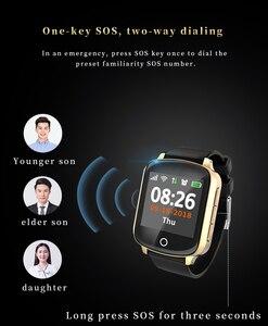 Image 5 - D200 D200SE ساعة يد ذكية بجهاز تتبع محدد لكبار السن النساء الرجال Smartwatch مع حماية سقوط معدل ضربات القلب ضغط الدم SOS