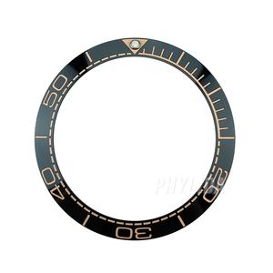 Новые 38 мм керамические ободки вставки для Sea Master SKX007/009 дайверов мужские часы замена аксессуары [черный/синий/коричневый]