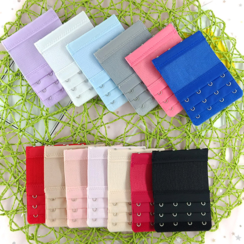 Bra Extenders Strap Buckle Extension 3 Rows 4 Hooks Bra Strap Extender Sewing Tool Intimates Accessories For Women Bra Strap