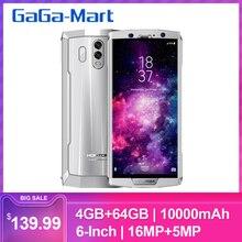 HOMTOM HT70 10000 мАч мобильный телефон 4 Гб 64 Гб 18:9 полный дисплей Восьмиядерный 13MP фронтальная 16MP+ 5MP отпечатков пальцев Смартфон