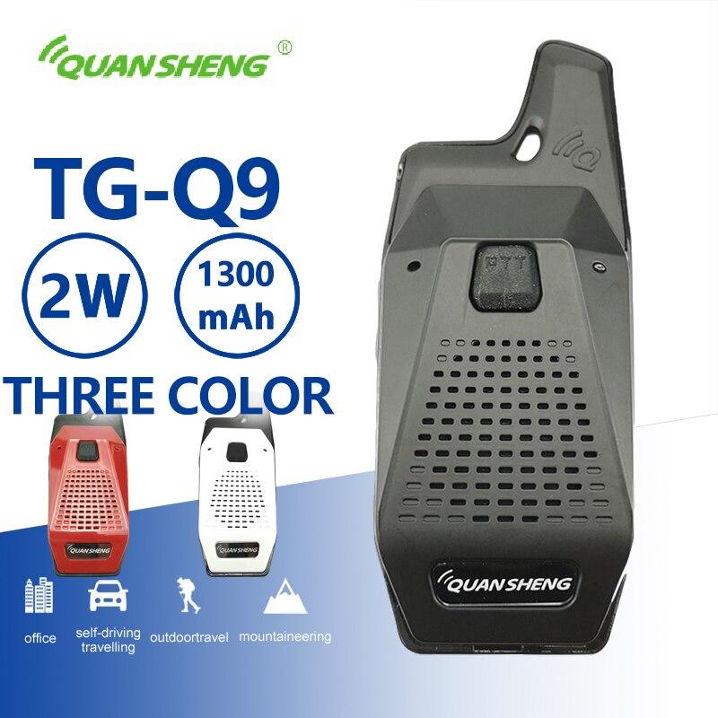 Quansheng TG-Q9 Mini Walkie Talkie UHF Radio Comunicador Portable PMR Kids CB Two Way Radio Station Toy Woki Toki Hf Transceiver