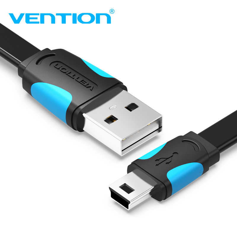 Vention cable Mini USB a USB Cable de datos de carga rápida para teléfono móvil cámara Digital HDD MP3 MP4 Player tabletas GPS