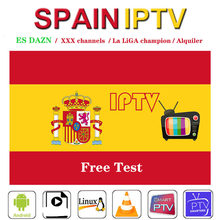 IPTV Spain M3u Subscription IPTV XXX DAZN Spain Movistar Alquiler La LIGA for Android10 Tv Box Smart TV H96 Max X96 SSIPTV MAGs(China)