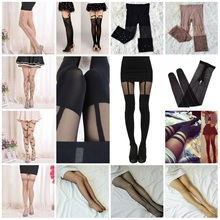 Tights Pantyhose High-Stockings Thigh Stay-Up Fashion Women Lady Transparent Summer Slim