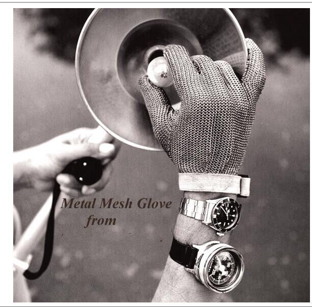Whitting davis из нержавеющей стали, металлическая сетка, стальная цепочка, перчатки для мяса, перчатки для мясника glvoe - 2