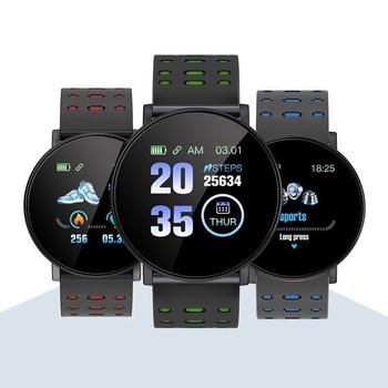 119plus Bracelet de Fitness intelligent avec mesure de la pression compteur d'impulsions Sport activité Tracker montre Bracelet