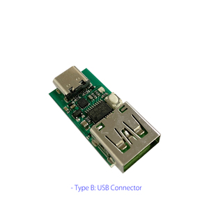 "Image 2 - ZY12PDN פ""ד DC דמה זיהוי סוג C PD2.0 3.0 מהיר טעינה הדק מודול קלפי HID תכנות מודול 5A 100W"