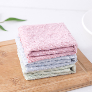 1Pc Kitchen Towel Super Absorbent Microfiber Kitchen Dish Cloth High-efficiency Tableware Household Cleaning Towel Kitchen Tools