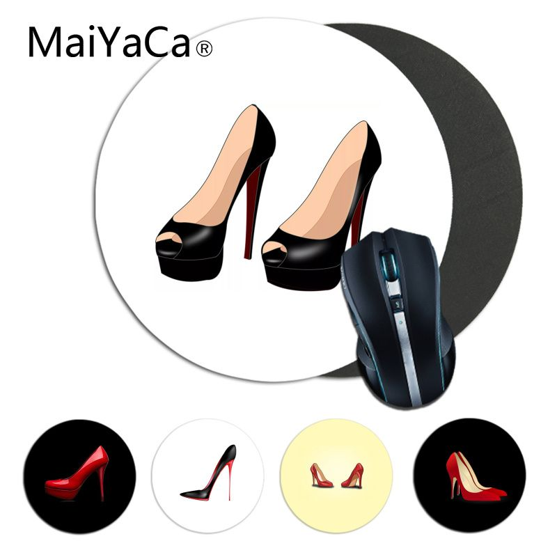 Maiyaca High Heels Gamer Speed Mice Retail Small Rubber Mousepad Computer Desk Mat For Gaming Gaming Mouse Pad