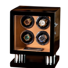Automatic Watch Winder-Box Rotator Display-Box 4-Slots Wooden 200907-21 Men Fashion High-Quality