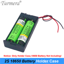 3.7V 2x 18650 Battery Holder Connector Storage Case Box with ON/OFF Switch with Cable for Power Bank or Battery Pack Use 2020 2xaa battery holder case box with cover xh2 54 2p cable switch