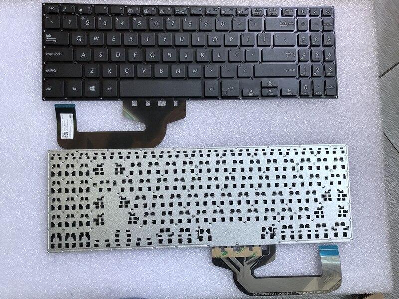 Nuevo para Asus X507 X507MA X507U x507oa X507UB laptop US teclado negro sin marco Tarjeta SIM inalámbrica, RFID para el hogar, teclado LCD de seguridad antirrobo, sistema de alarma WIFI/GSM, kit de Sensor de voz en inglés, ruso, español