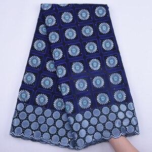 Image 5 - Venta caliente tela de encaje africano de alta calidad gasa Suiza encaje en Suiza tela de encaje africano de alta calidad para vestido de fiesta a1682