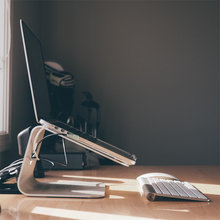 Laptop Stehen für MacBook, aluminium Laptop Stand Erhöhen Basis Ergonomie Notebook Cooling Halter für MacBook Air Pro 11-17 zoll