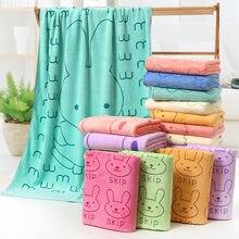 70*140 toalha de praia ultra-fino fibra toalha de banho dos desenhos animados absorvente impressão grande toalha de banho strandlaken