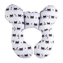U-образная Подушка с фиксированной головой детская подушка для коляски хлопковая детская Защитная Подушка безопасная мягкая подушка для тела новорожденного