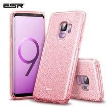 ESR Fall für Samsung Galaxy S9 Abdeckung Make Up Serie Zurück Abdeckung Shinning Schutzhülle Bling Glitter 3 Schicht Fall für Samsung s9 Plus