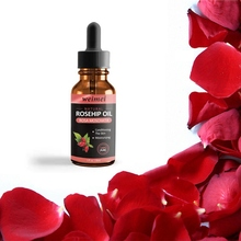 Natural Organic Rosehip Seed Oil Moisturizing Brighten Skin Color Essen
