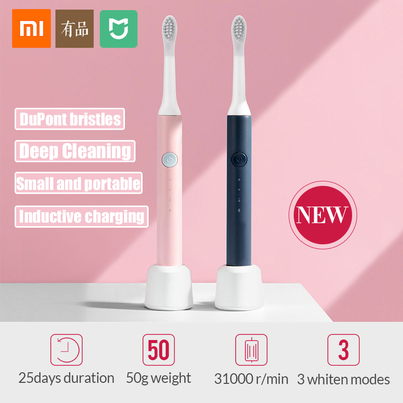 xiaomi brush electric Toothbrush Sonic Wave mijia toothbrush for replaceable toothbrush Head Rechargeable Electric Toothbrush 5 image