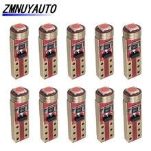 10 шт. T5 W3W 74 3030 чип светодиодная лампа для приборной панели