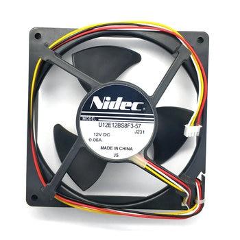New Original Nidec U12E12BS8F3-57 J231 DC12V 0.06A for refrigerator cooling fan