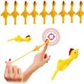 5/10/20 шт. палец птицы Турция Рогатка забавные NoveltyToys для детей и взрослых палец выброса Крытый интерактивные вечерние игрушки