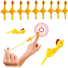 5/10/20 pces dedo pássaros turquia catapulta noveltytoys engraçados para crianças e adultos dedo ejeção interativa interior festa brinquedos