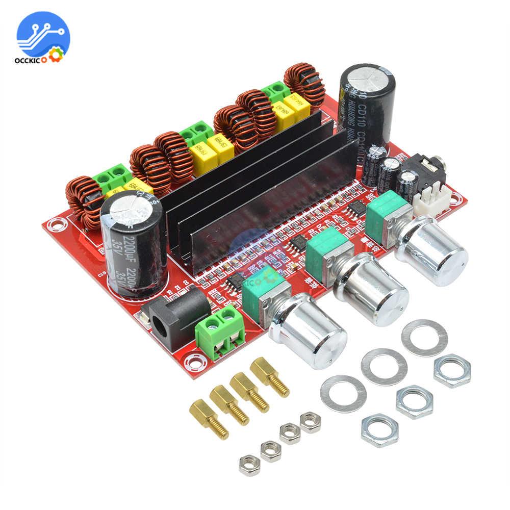 TPA3116D2 Плата усилителя двухканальный стерео высокой мощности цифровой аудио усилитель мощности плата 2X50W + 100W динамик звуковой модульboard boardboard digitalboard amplifier  АлиЭкспресс