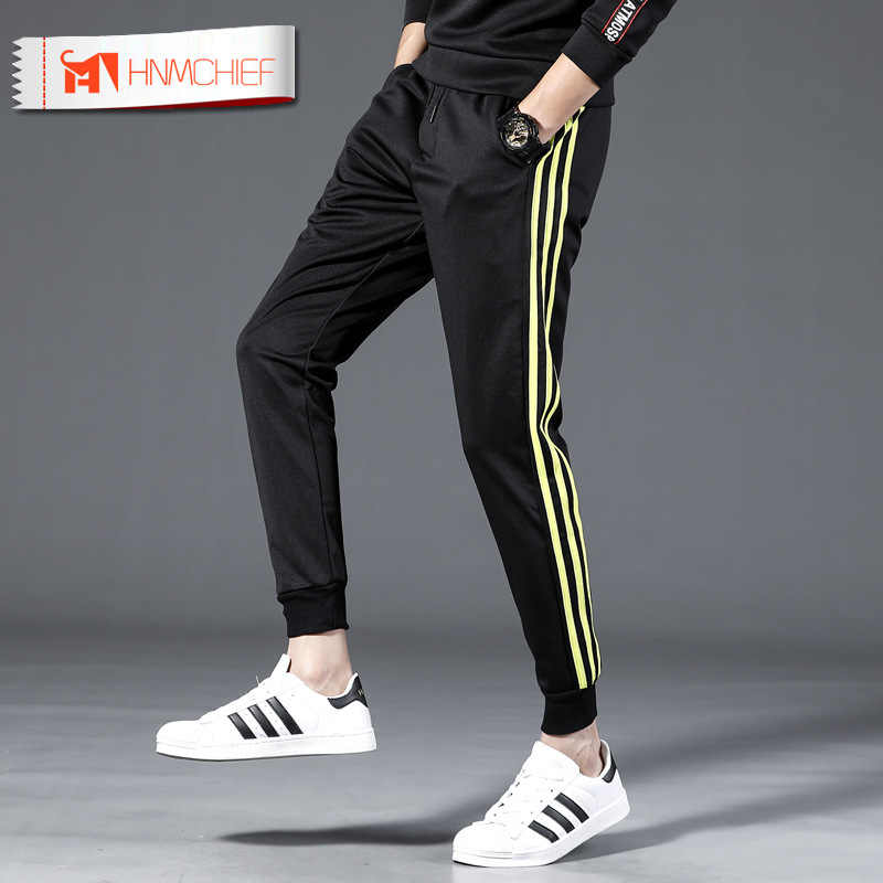 HNMCHIEF codzienne męskie spodnie mikro-elastyczne marki siłownie spodnie dresowe do biegania spodnie do biegania odzież sportowa spodnie kulturystyczne