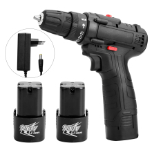 18V Multifunctional Electric Screwdriver Cordless Electric Drill Rechargeable Lithium Battery Electric Screwdriver Power Tools