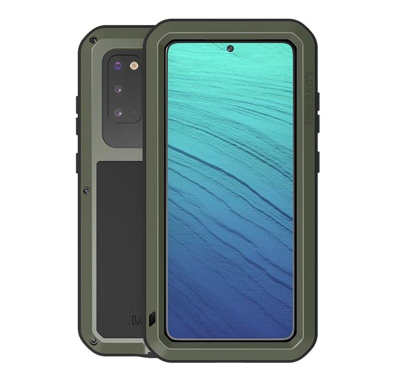 Doom armure robuste pour Samsung Galaxy S20 Ultra S11 étui pour Samsung S20 Plus étui antichoc housse de téléphone Coque Funda