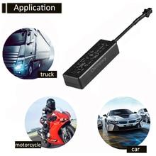 오토바이 자동차 전기 자전거 GPS 트래커 오일 오프 알람 도난 방지 진동 로케이터 GSM ACC 감지 온라인 추적 장치