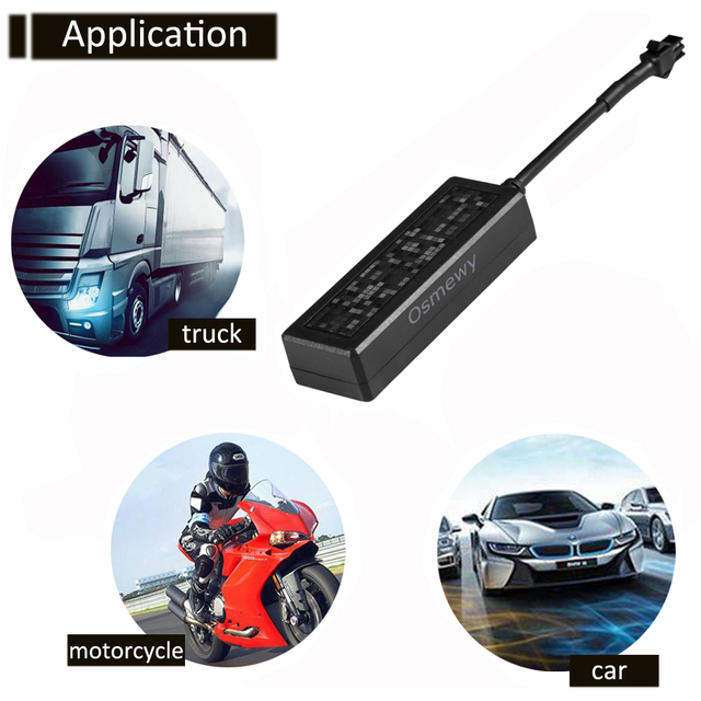 Motorcycles Car Electric Bicycle GPS Tracker oil off alarm Anti Theft Vibration Locator GSM ACC detection Online Tracking Device