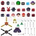 Фигурка головы паука MJ Miles Mysterio Ник пушистый Prowler далеко от дома героев строительные блоки серии фильмов Кирпичи игрушки для детей