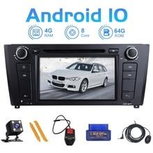 ZLTOOPAI autoradio Android 10, 8 cœurs, Navigation GPS, lecteur multimédia, Audio stéréo, pour BMW E87 et BMW série 1 E88, E82, E81, I20