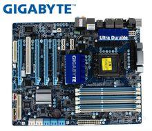 Gigabyte GA-X58A-UD3R LGA 1366 For Intel X58 Motherboard DDR3 USB3.0 24GB SATA III Desktop Mainboard Systemboard Used PC original motherboard for gigabyte ga p55a ud3r lga 1156 ddr3 16gb for i5 i7 cpu p55a ud3r p55 desktop motherboard free shipping